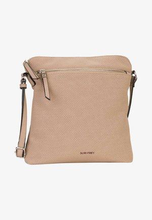 ROMY HETTY  - Across body bag - taupe