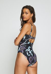 Seafolly - ELDORADO BANDEAU MAILLOT - Swimsuit - black - 2