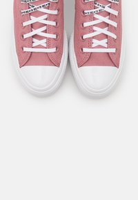 Converse - CHUCK TAYLOR ALL STAR LIFT - Trainers - dusty rose/white/black - 5