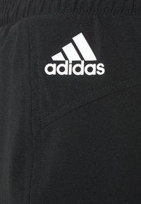 adidas Performance - Pantalón corto de deporte - black/white - 5