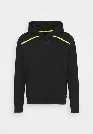 SUDADERA RUSH - Sweatshirt - black/yellow