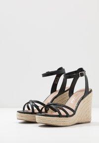 New Look - PEDGER - Sandalen met hoge hak - black - 4