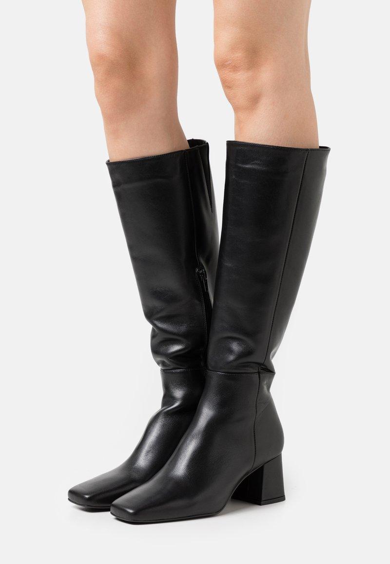 Zign - Vysoká obuv - black