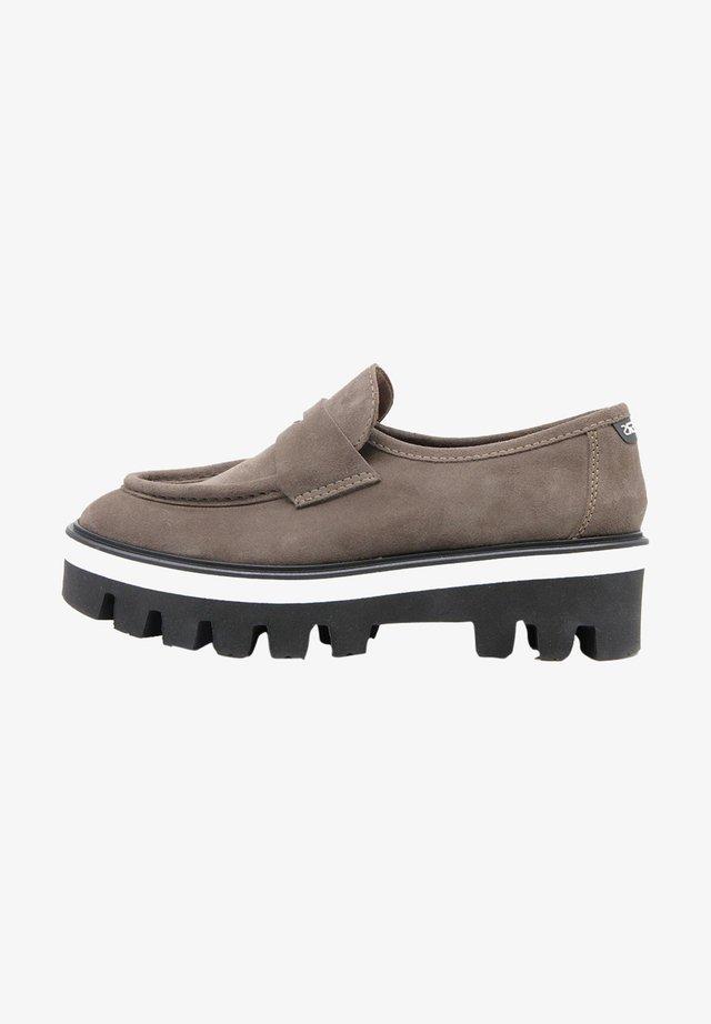 IMAGINARY VERDE - Scarpe senza lacci - gris