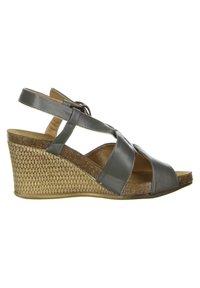 Inblu - Wedge sandals - anthrazit - 5