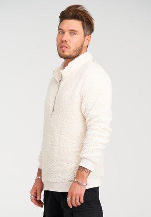 Fleece jumper - ecru