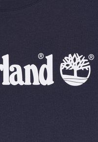 Timberland - SHORT SLEEVES TEE - Print T-shirt - navy - 2