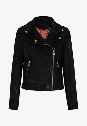 CHAQ DELAWARE - Faux leather jacket - black