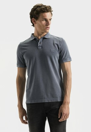 Polo shirt - steel blue