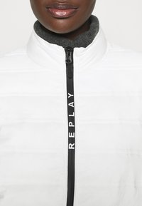 Replay - OUTERWEAR - Light jacket - butter white - 4