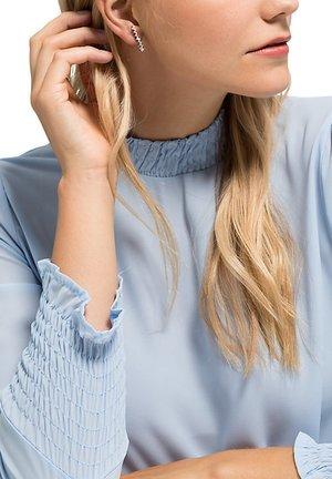 DAMEN-OHRSTECKER 925ER SILBER 2 ZIRKONIA - Earrings - silber