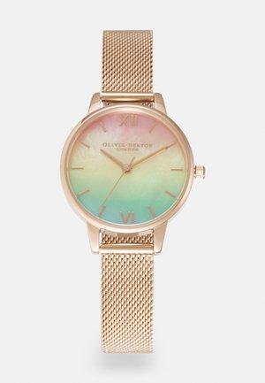 RAINBOW - Watch - roségold-coloured/multicolour