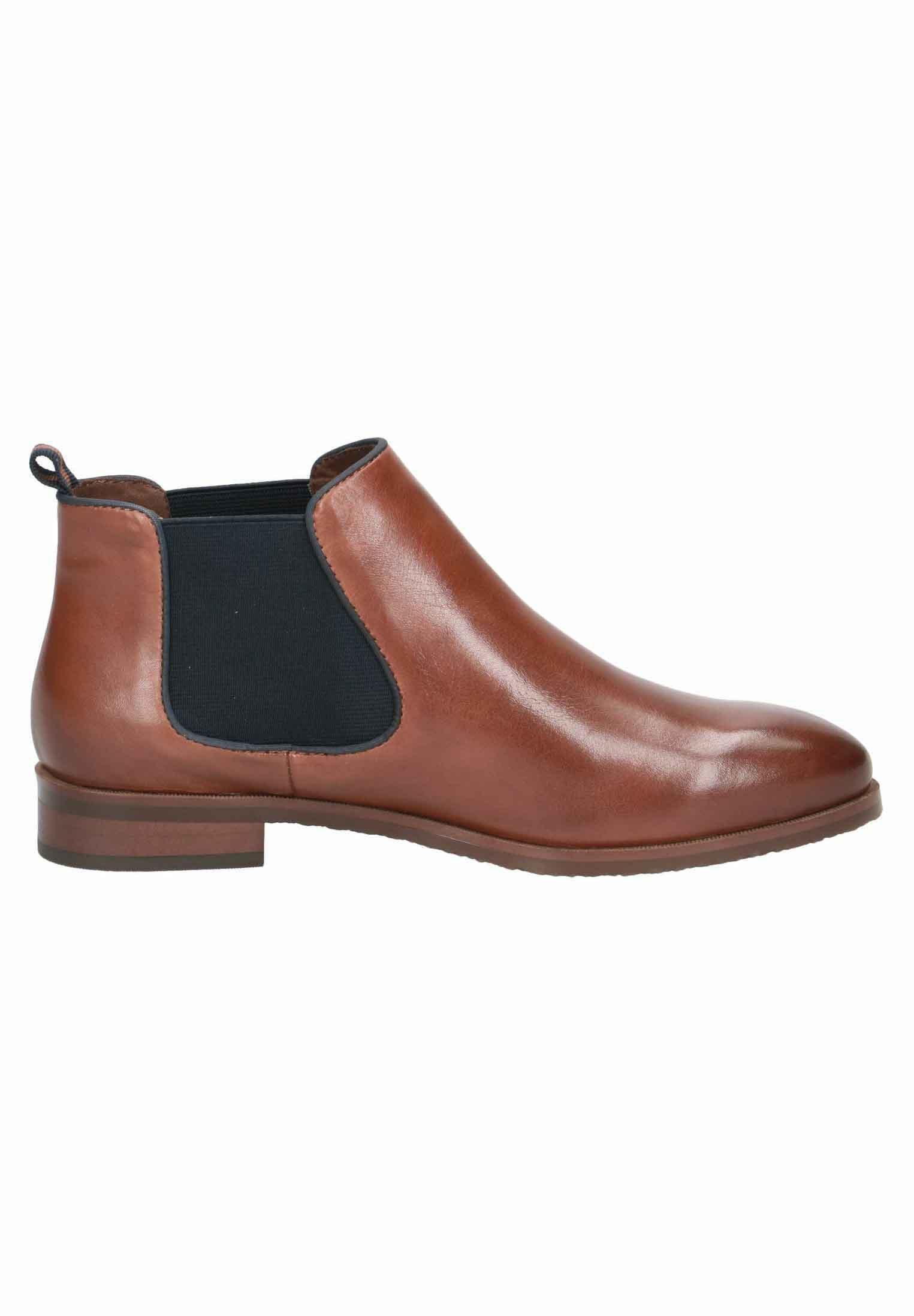 Caprice CHELSEA BOOT Ankle Boot cognac/ocean/braun