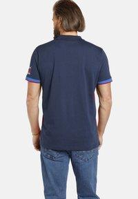 Jan Vanderstorm - Polo shirt - dunkelblau rot - 1
