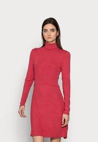 Glamorous Tall - LADIES DRESS - Jersey dress - burnt orange - 0