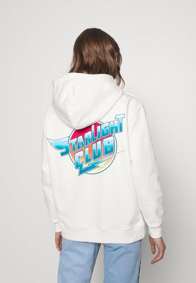 STARLIGHT CLUB HOODIE - Sweatshirt - offwhite