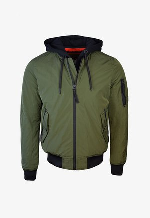 MILITARY FLIGHT  - Bomber Jacket - dark khaki
