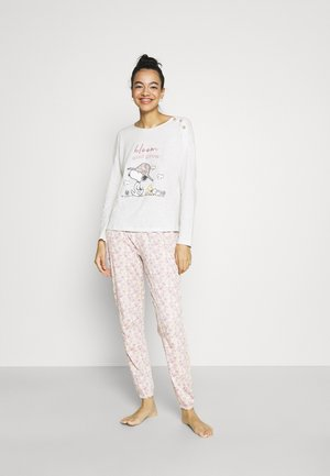 SNOOPY COTTAGE LONG BLOOM PJ SET - Pyjama - multicolor