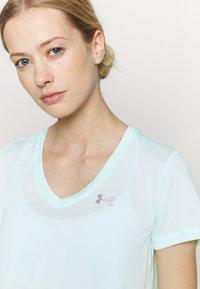 Under Armour - TECH TWIST - Camiseta de deporte - seaglass blue - 4