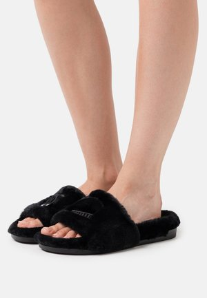 FLIRTING SLIDERS - Slippers - black