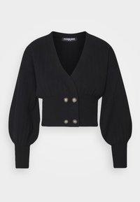 Fashion Union - MEEKER - Cardigan - black - 4