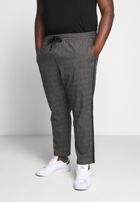 Only & Sons - ONSLINUS PANT CHECKS  - Trousers - grey - 0