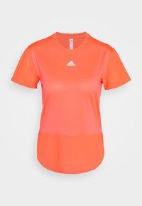 adidas Performance - TEE - T-shirts med print - signal pink - 0