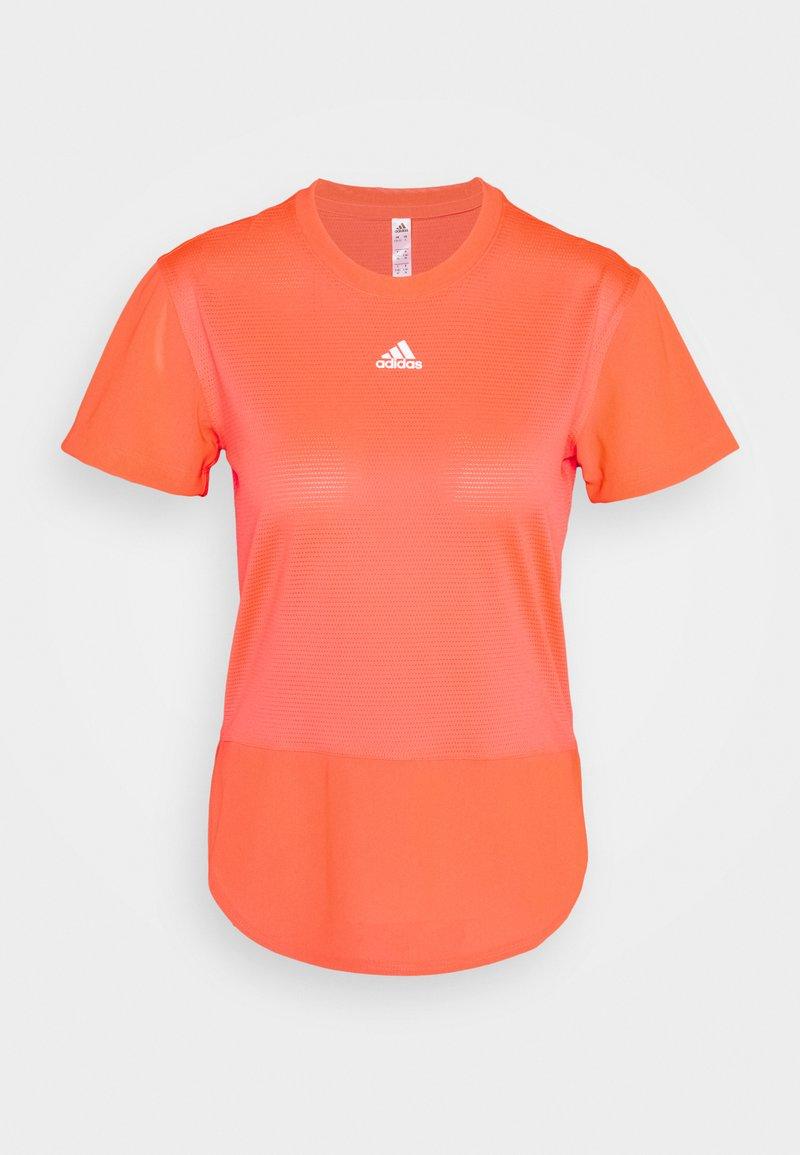 adidas Performance - TEE - Camiseta estampada - signal pink