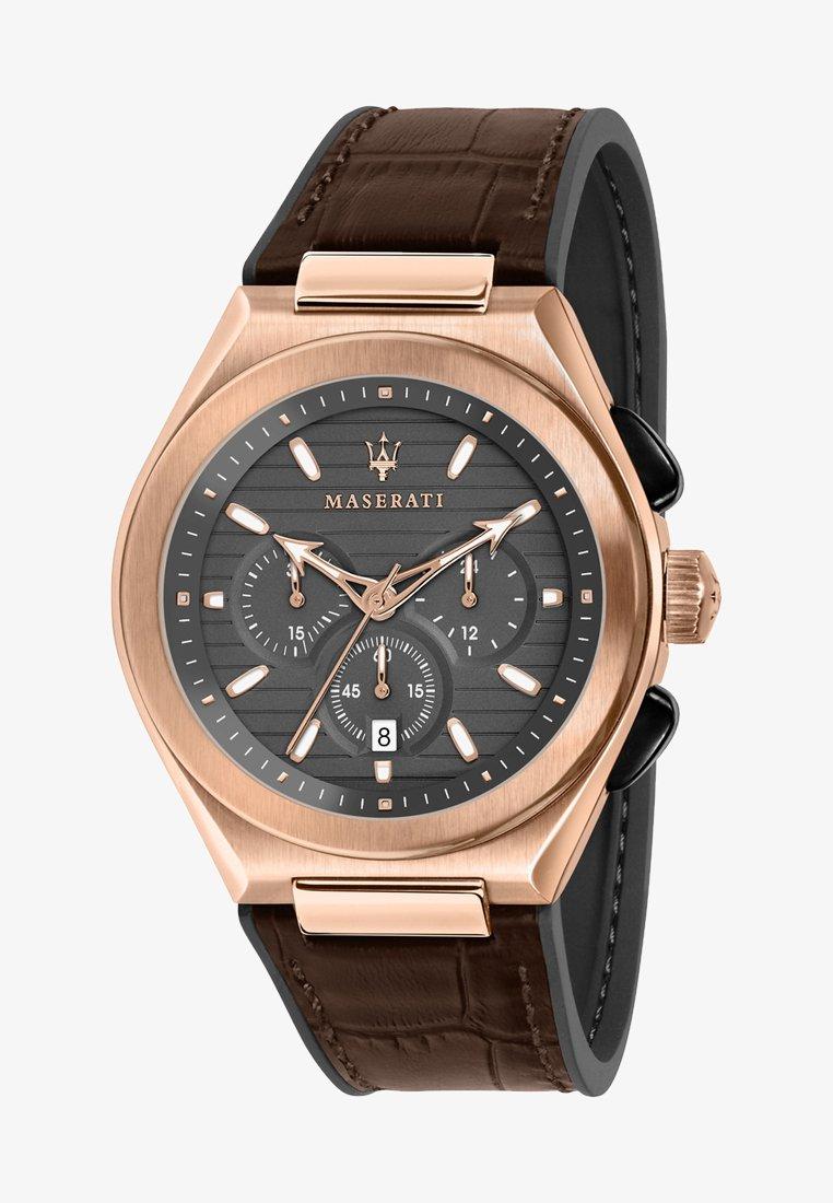 Maserati - TRICONIC  - Chronograph watch - roségold