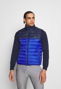 Polo Ralph Lauren Golf - FILL VEST - Waistcoat - royal blue/french navy - 0