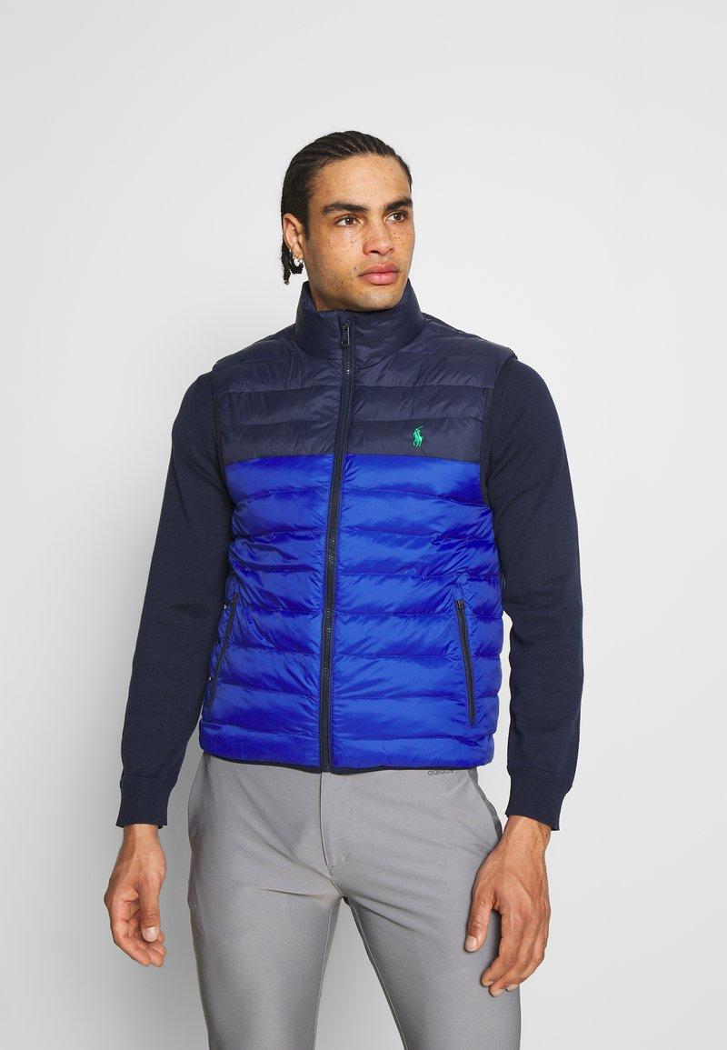 Polo Ralph Lauren Golf - FILL VEST - Waistcoat - royal blue/french navy