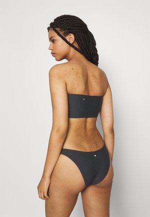 ESSENTIALS HIGH CUT PANT - Bikini bottoms - black