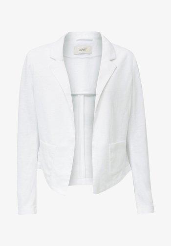 KNIT BLAZER - Blazer - white