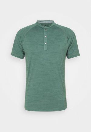 GW CLOUDSPUN MAT HENLEY - T-Shirt print - blue spruce heather