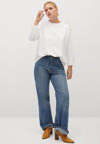 Violeta by Mango - CAMIBU - Long sleeved top - off white - 1