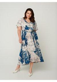 Zizzi - Day dress - dark blue - 0