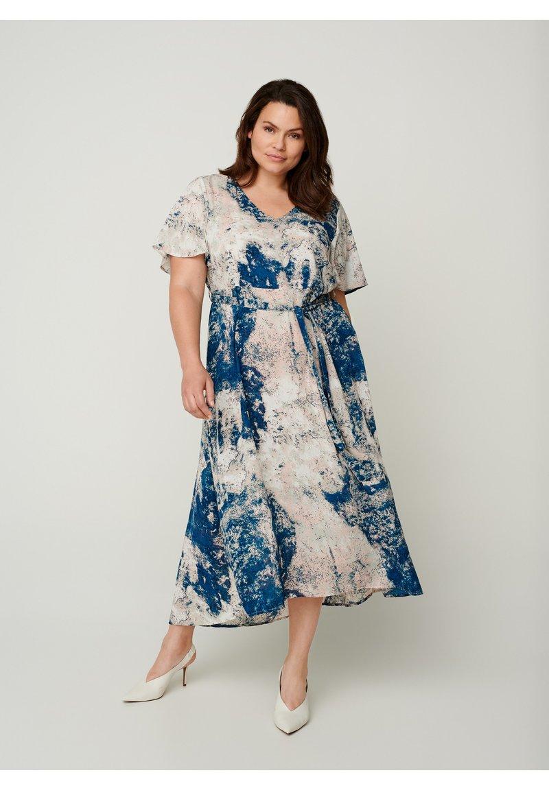 Zizzi - Day dress - dark blue