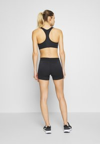 Nike Performance - AEROSWIFT SHORT - Tights - black/white - 2