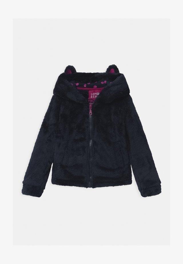GIRLS  - Giacca in pile - navy blazer