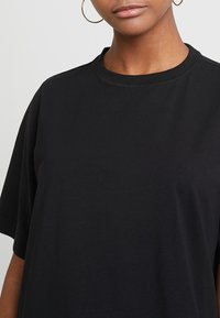 Weekday - TRISH - T-shirts - black - 4