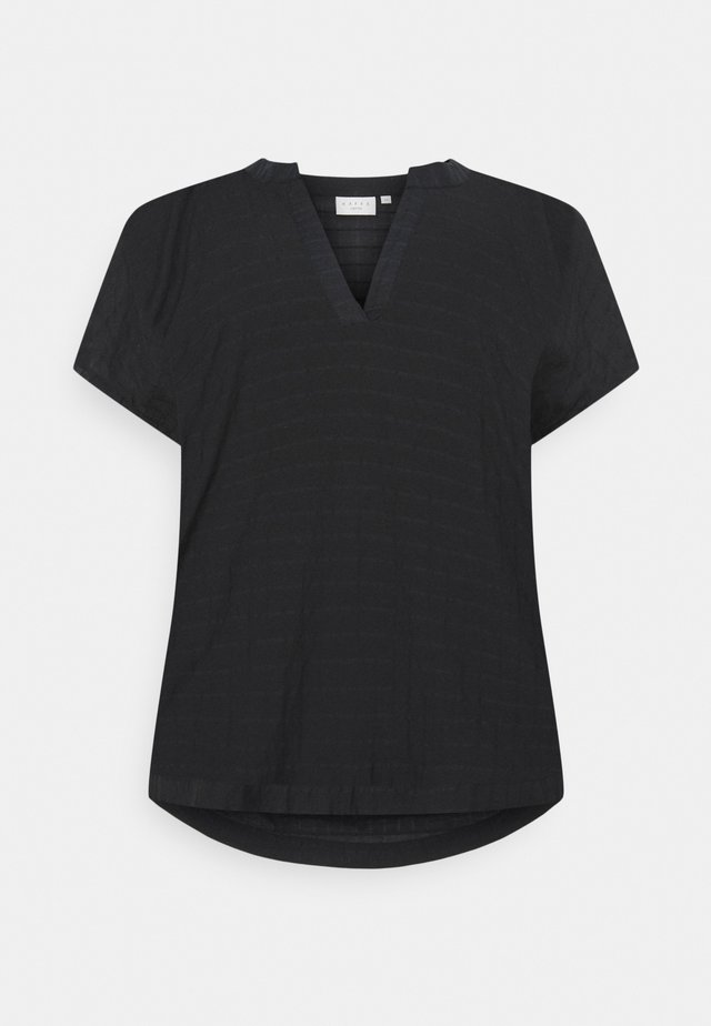 KCFELIA WING SLEEVE - Blouse - deep black