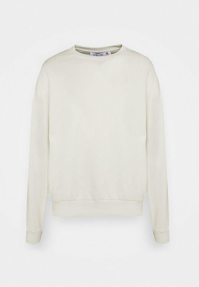 NECK DETAIL - Sweatshirt - cream