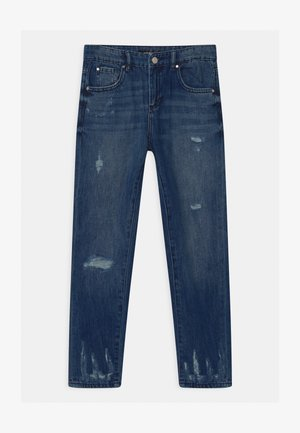 JUNIOR MUM FIT - Relaxed fit jeans - blue denim