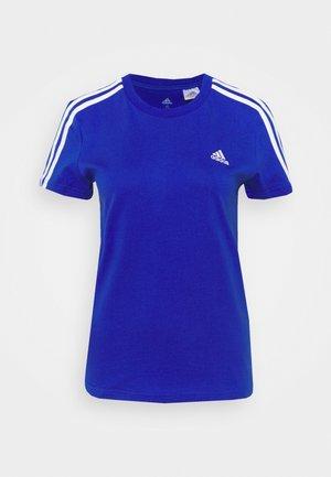 Print T-shirt - bold blue/white