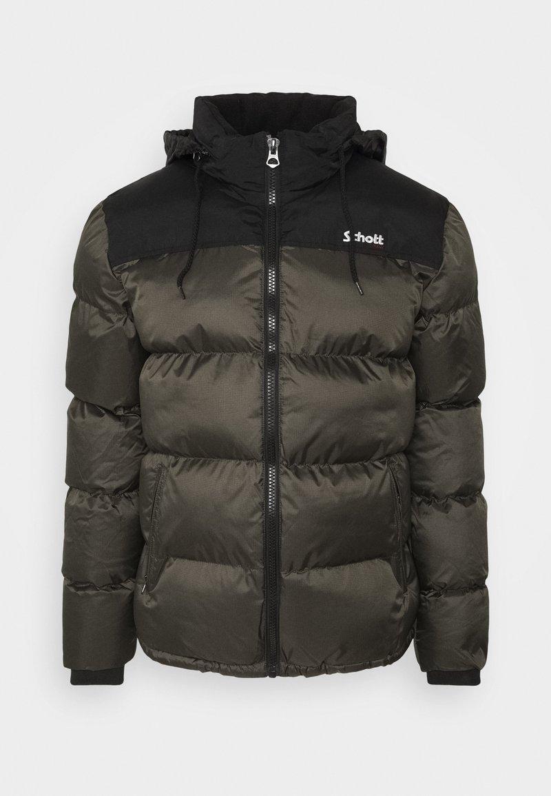 Schott - UTAH UNISEX - Winter jacket - khaki