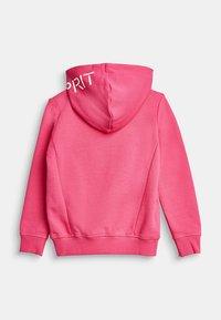 Esprit - Zip-up hoodie - pink - 1
