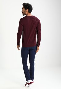 edc by Esprit - BASIC - Pullover - bordeaux - 2