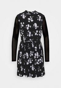 Calvin Klein Jeans - FLORAL DRESS - Day dress - black - 6