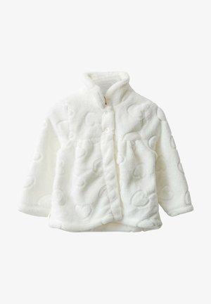 MANTEL - Fleece jacket - ecru