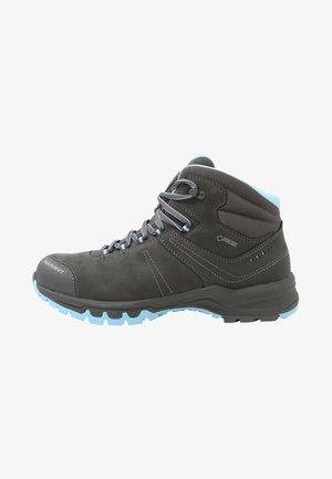 NOVA III MID GTX WOMEN - Hiking shoes - graphite/whisper